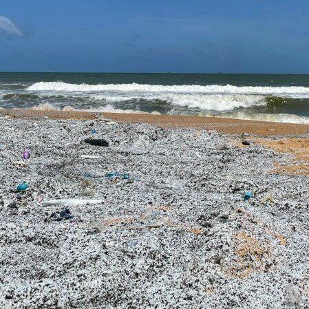 Fragmentos en la playa - BeachTech Beach Cleaner